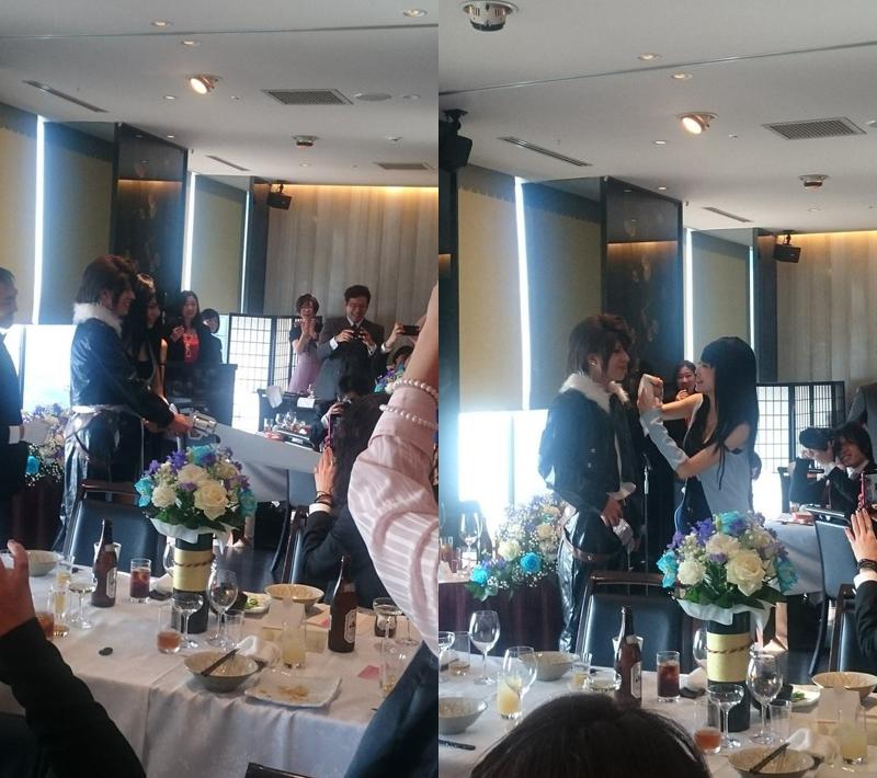 Final Fantasy Cosplayers Have Fun Weddings
