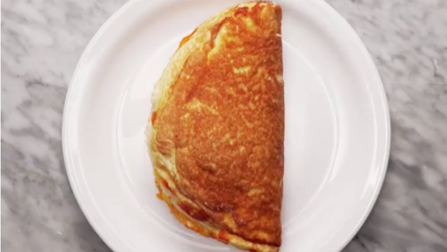 Make A Fluffy, Puffy Omelette By Folding In Whipped Egg Whites