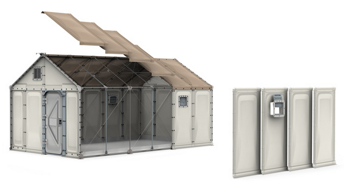 The UN Is Ordering 10,000 of IKEA's Brilliant Flatpack Refugee Shelters