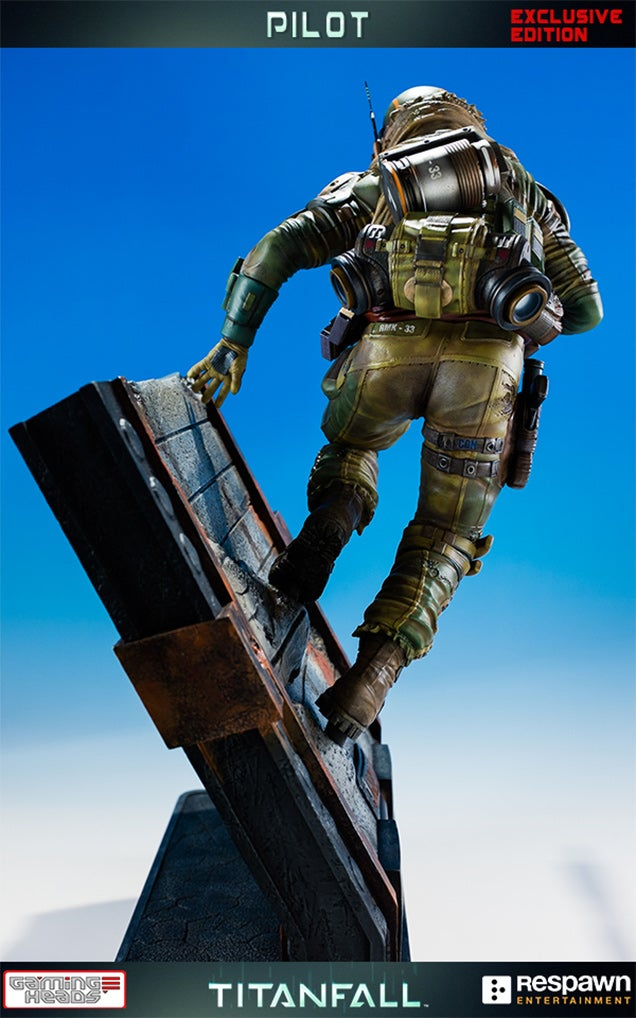 A Titanfall Statue Without Those Pesky Titans
