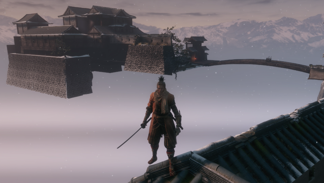 Breaking Out Of Bounds In Sekiro Makes It Even More Beautiful
