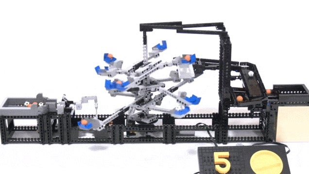 Spinning LEGO Rotor Is Brilliant On So Many Levels