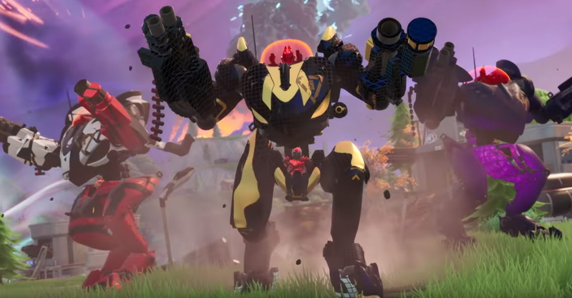 Fortnite's Unpopular Mechs Will Stay In Competitive Play