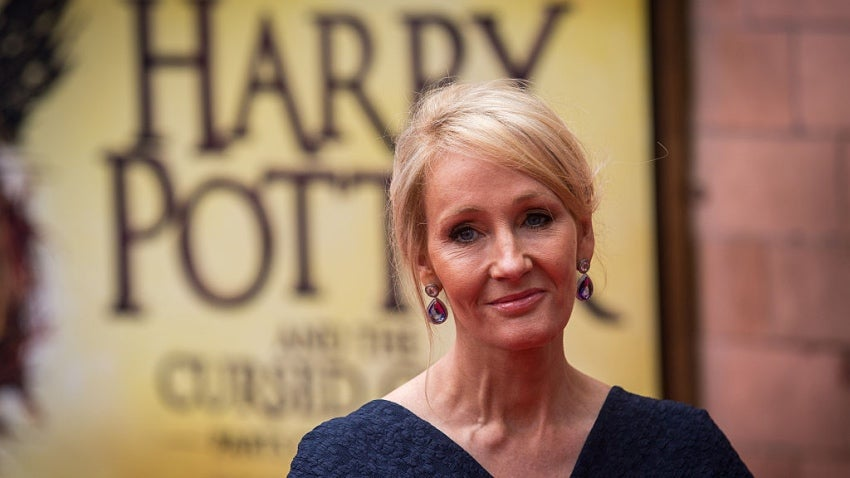 J.K. Rowling Says Harry Potter is Done After Cursed Child
