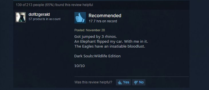 Far Cry 4, As Told By Steam Reviews