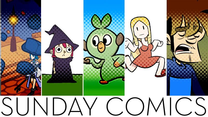 Sunday Comics: JUMP!