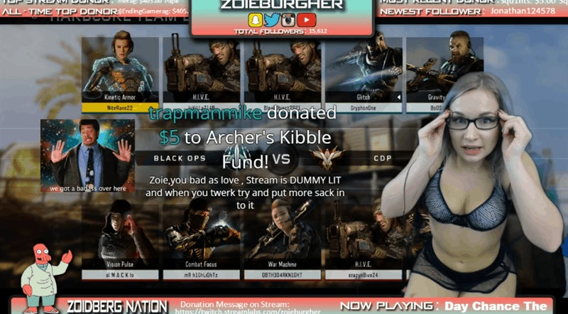 Micro Girl Banned Porn - Zoie Burgher knows exactly what you see when you tune into her Call of Duty  streams. She knows that viewers judge her and people assume the worst  because of ...