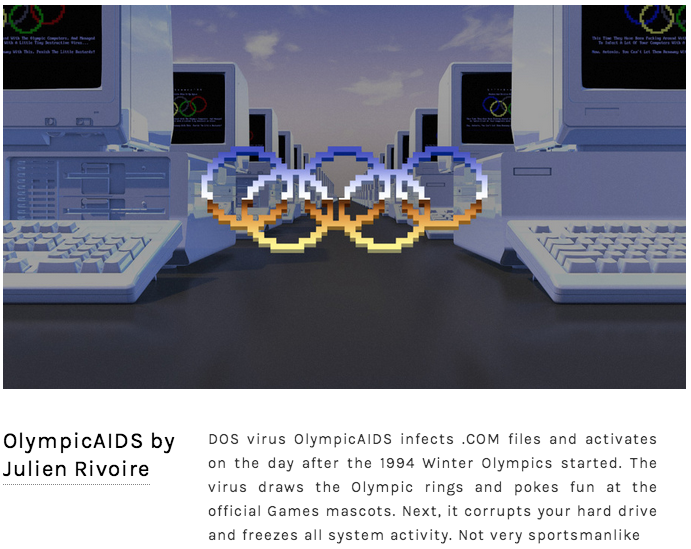 Here's an Illustrated Guide to the World's Worst Computer Viruses