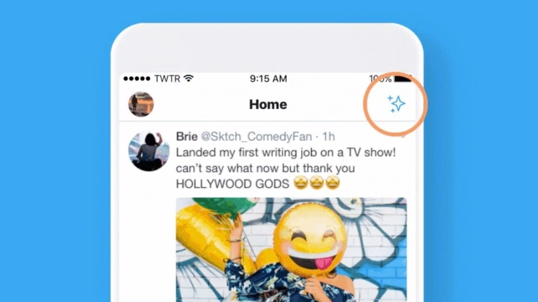 Twitter Tests New Button To See The Latest Tweets First