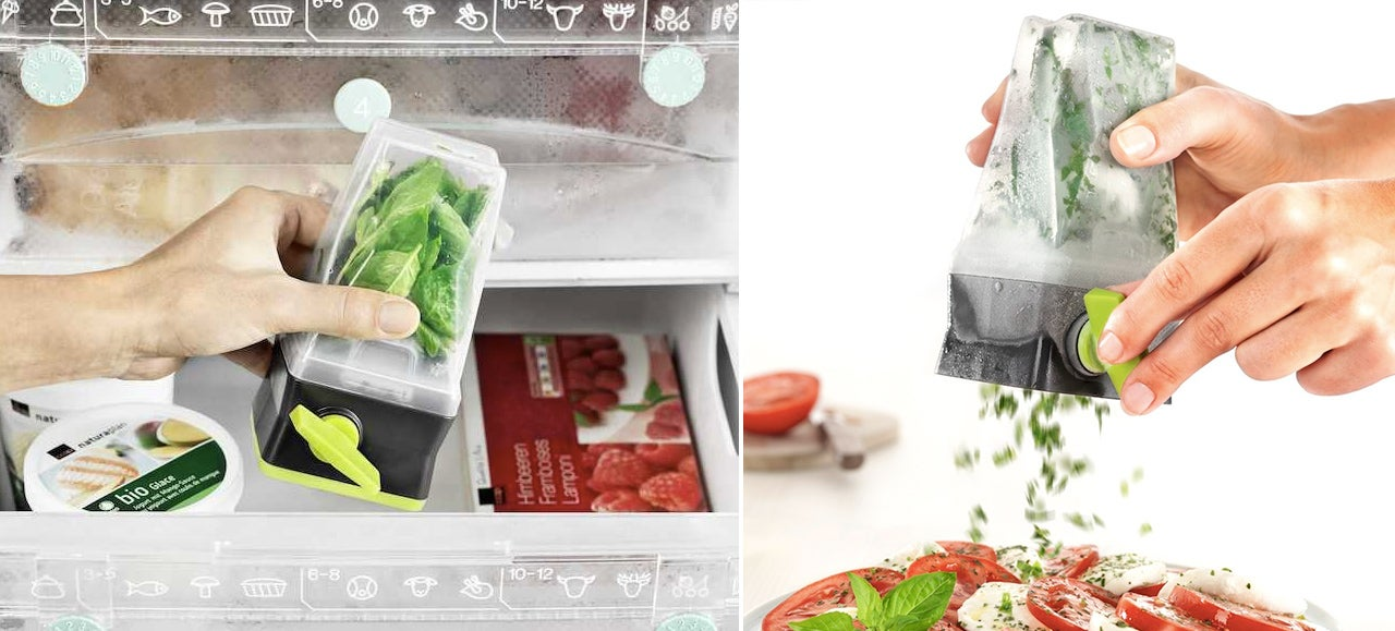 This Frozen Grinder Ensures You've Got Fresh Herbs All Year Round