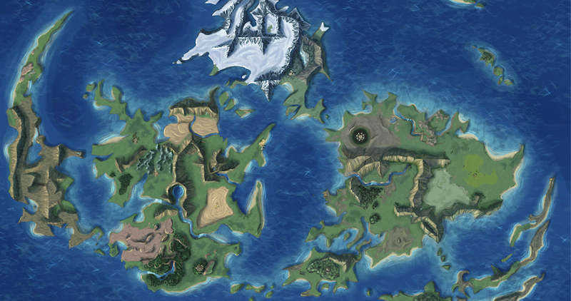 Final Fantasy Vii World Map Podcast: We Sure Hope The Final Fantasy VII Remake Has A World Map