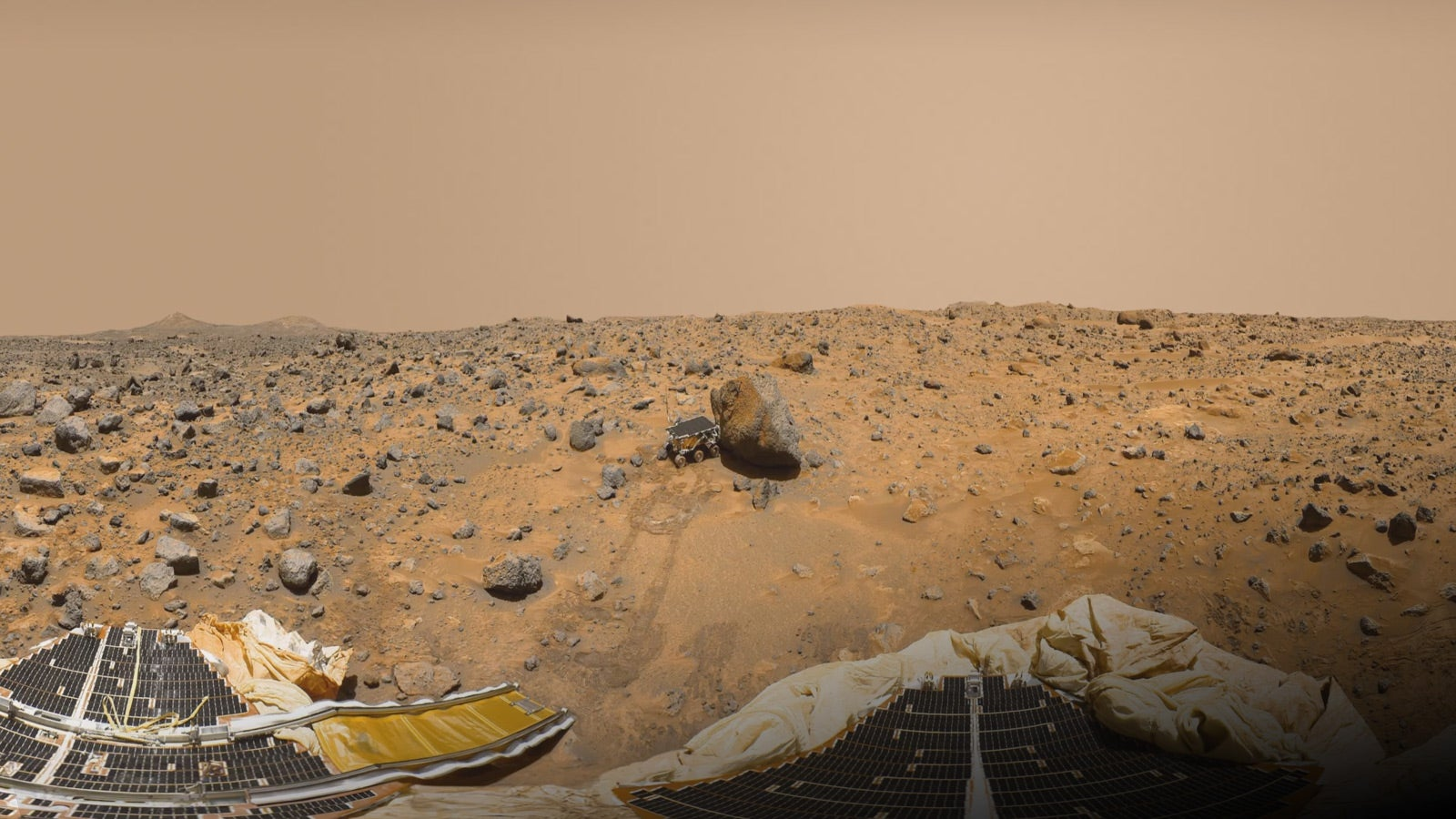 In 1997, NASA's Pathfinder Mission Unknowingly Landed Near The Shores Of A Ancient Martian Sea