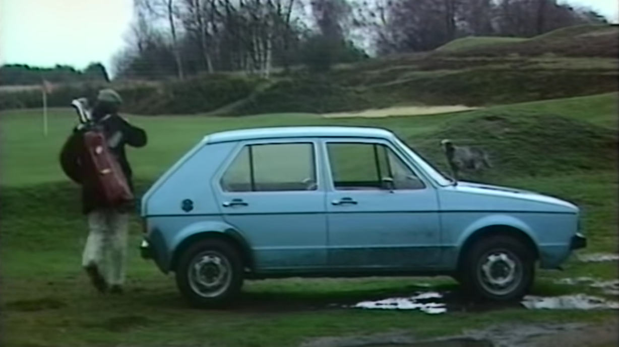 In 1974 The VW Beetle Replacement Was New And Ready To Golf