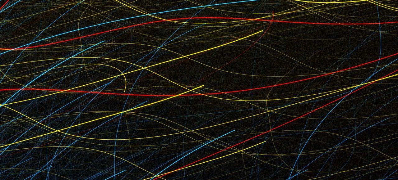 A Glitch in the Hubble Telescope Makes Beautiful Modern Art