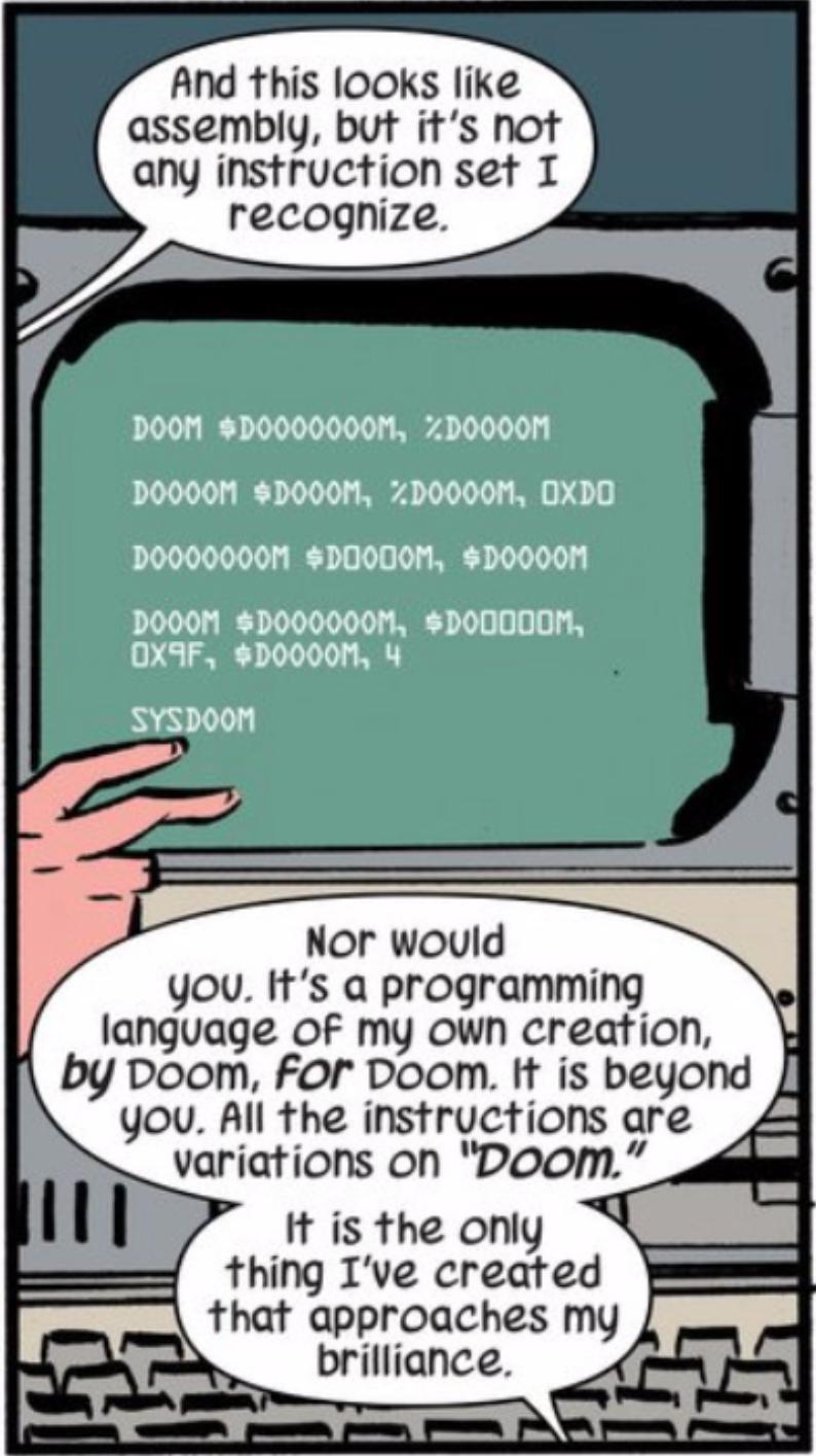 When Cosplay Saved Doctor Doom's Life