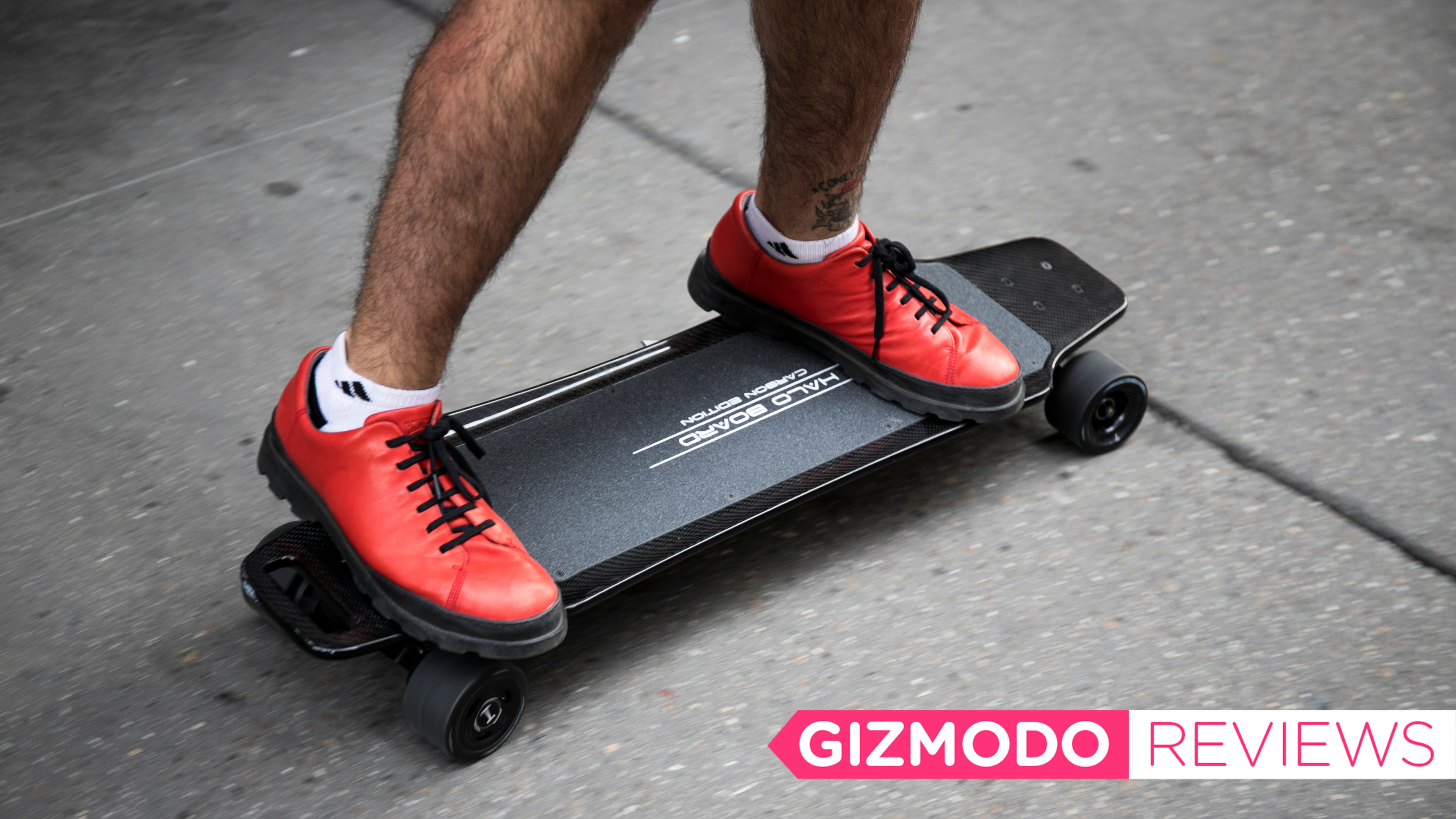Halo Board Electric Skateboard: The Gizmodo Review