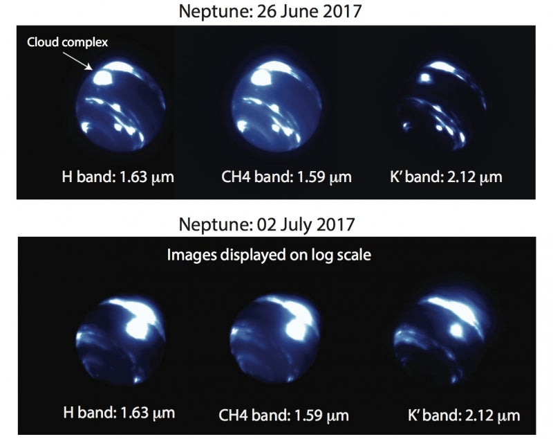 A Massive New Storm System Just Appeared Over Neptune