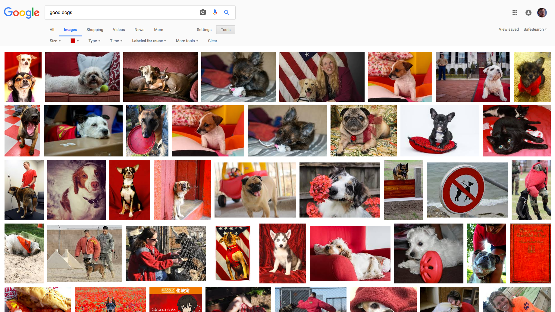 Search Flickr Better With Google Images