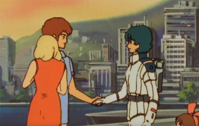 Oh God This Gundam Handshake Is Excruciating