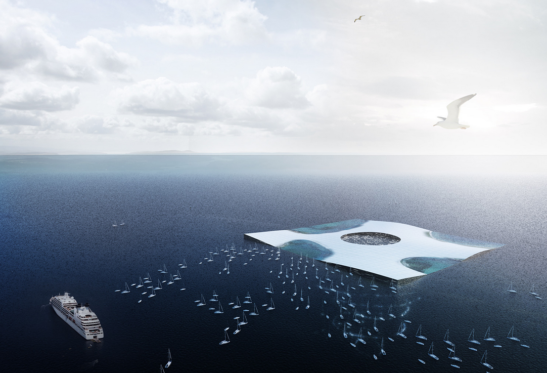 A Floating Artificial Reef Would Let You Walk Down Into the Ocean Deep