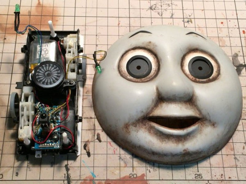 Custom Thomas the Tank Engine Toy Is A Nightmare From Hell