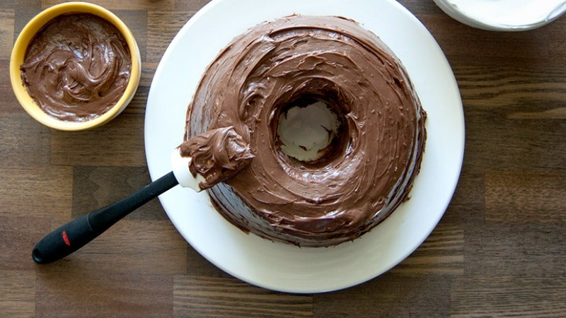 Make A Delicious, Creamy Icing Out Of Chocolate And Sweet Potatoes