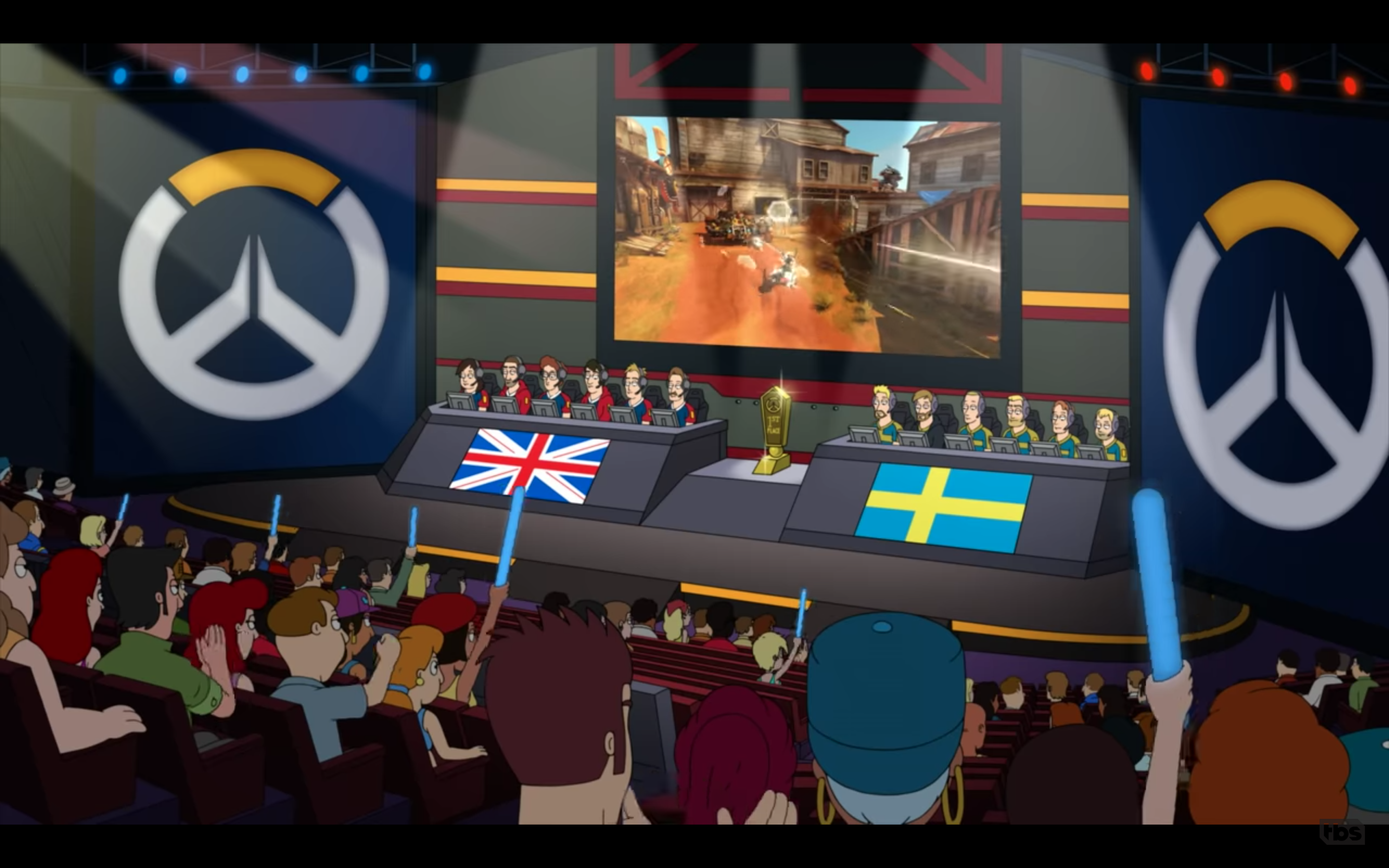 Someone At American Dad Is A Big Fan Of The Overwatch League