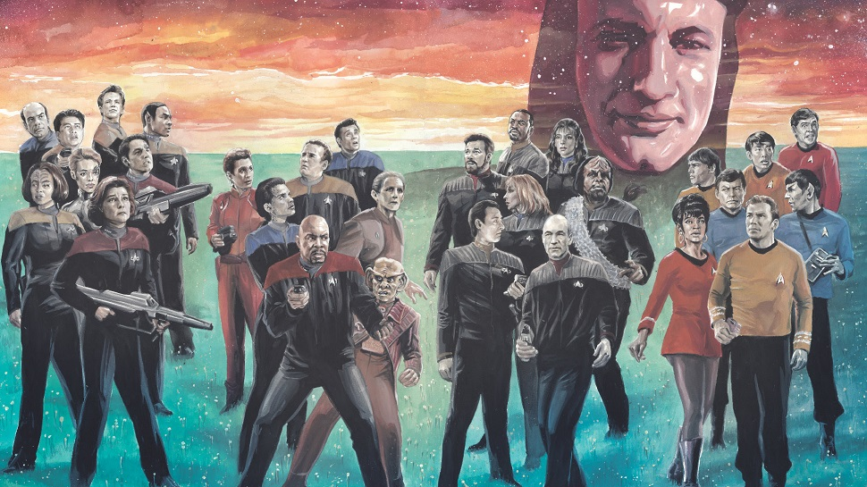 Star Trek Is Getting A Major Comic Book Crossover, All Thanks To Q