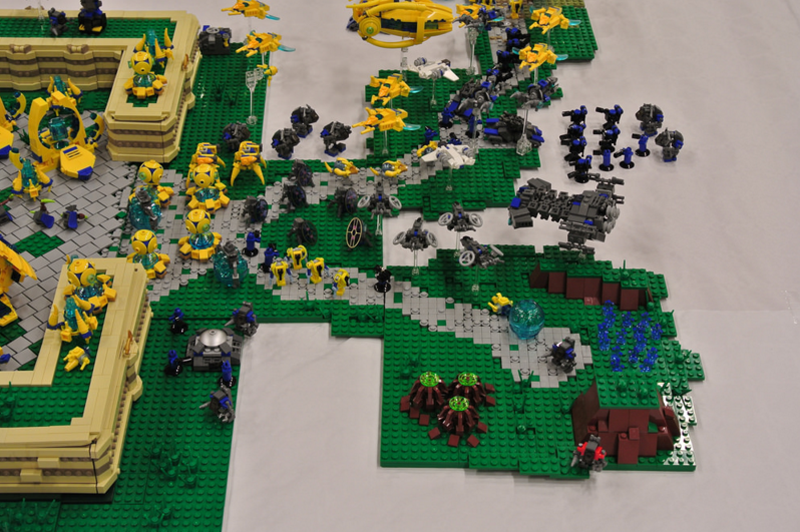 LEGO StarCraft Base Needs No Pylons