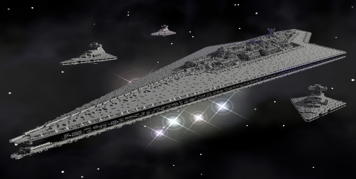 Heroic Kickstarter Wants To Build A 13-Foot Star Destroyer