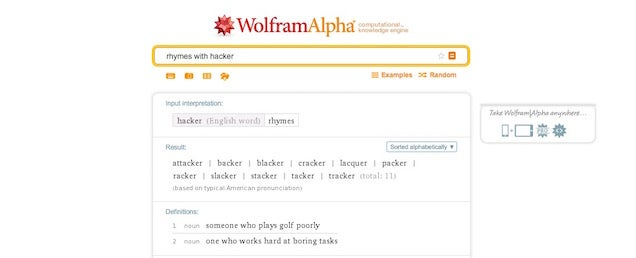 13 Awesome Wolfram Alpha Tricks for the Average Person