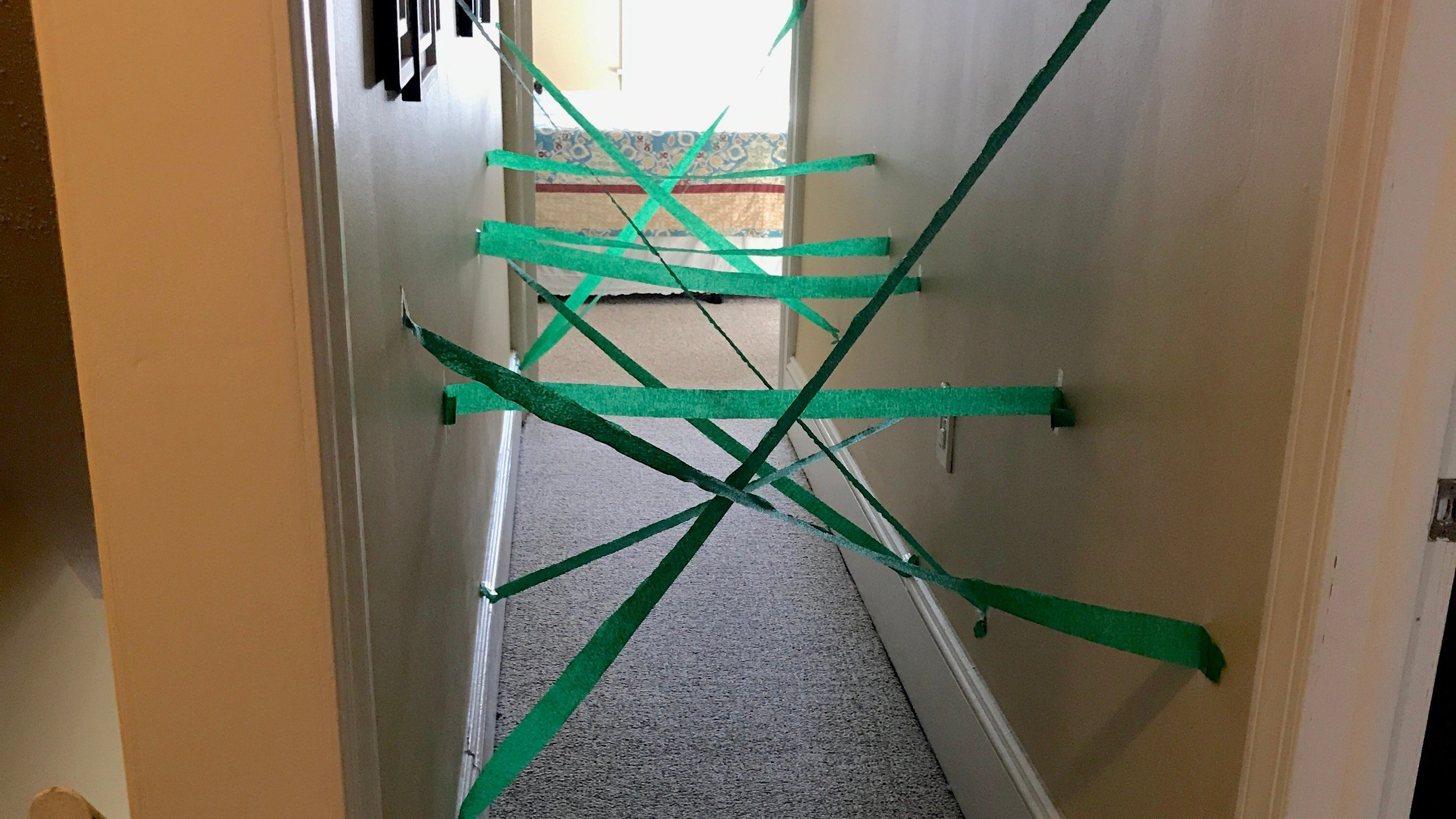 How To Make A DIY 'Laser' Maze In Your Home