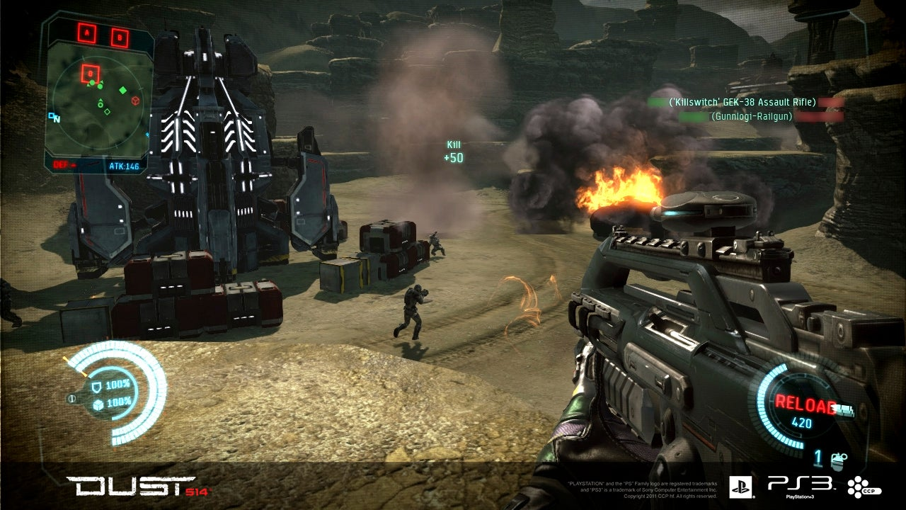 Dust 514, CCP's FPS Set In The EVE Online Universe, Will