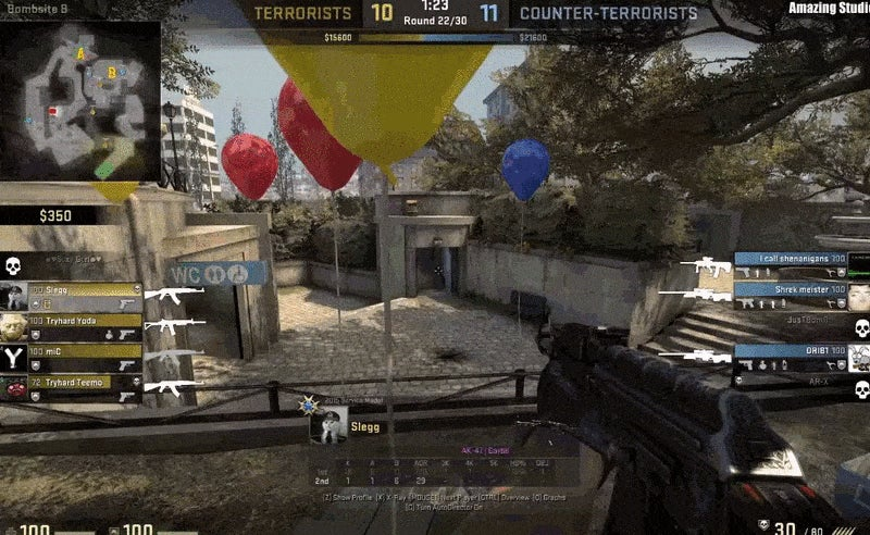 Counter-Strike Player Savagely Defeated By A Balloon