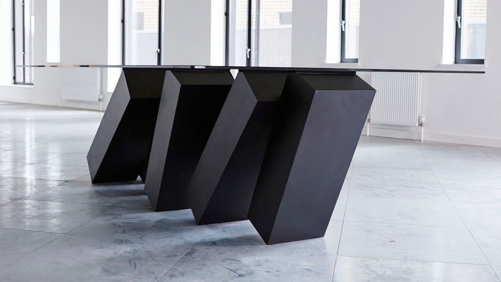 2001 Inspired This Table Supported By Toppling Monolith Dominos