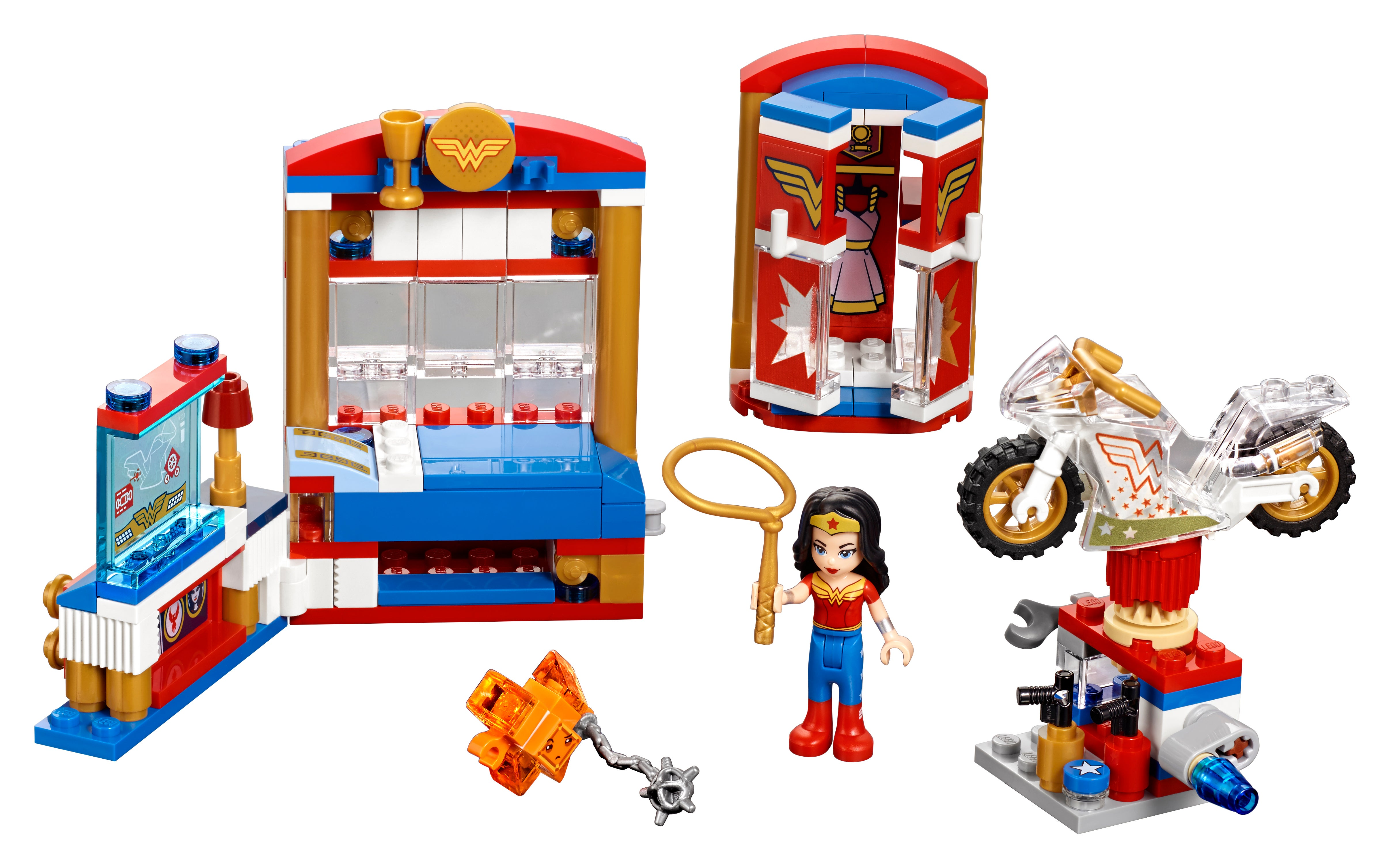 Lego Toys For Girls : Dc super hero girls sets make the most of lego s friends