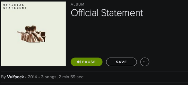 Spotify Asks Band to Take Down Scam Album, Band Responds Hilariously
