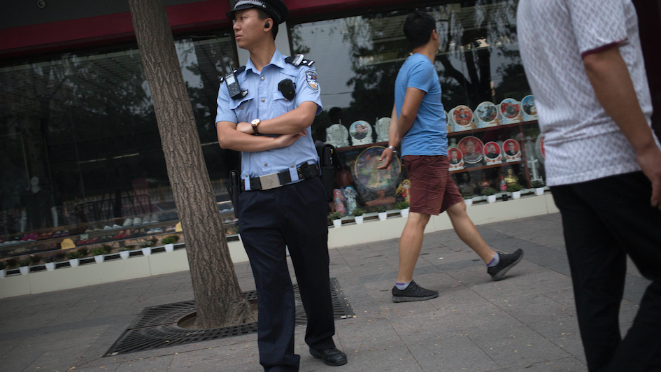 China's Dystopian Police State Arms Cops With Smart Glasses To Scan Everyone's Faces