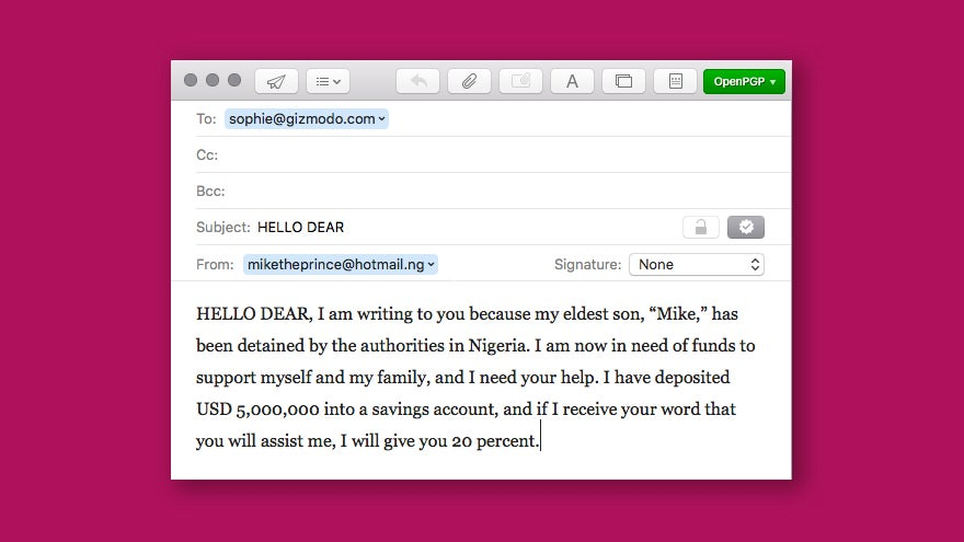 Interpol Just Busted A Nigerian Email Scam Kingpin