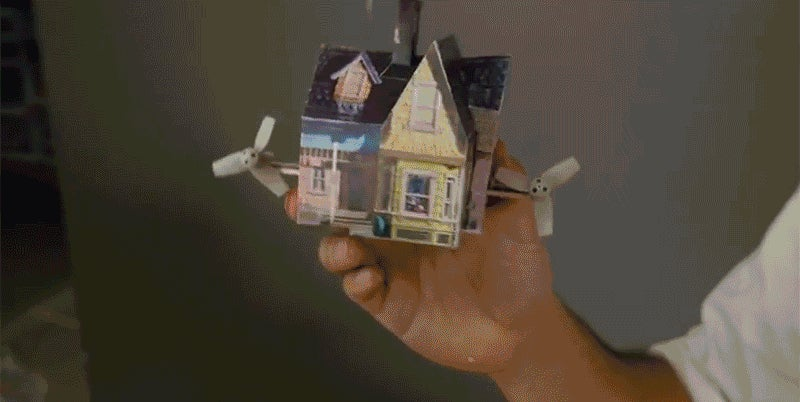 An Adorably Tiny RC Version of the House From Up That Can Be Flown Indoors