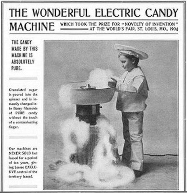How Cotton Candy Was Popularised By... A Dentist
