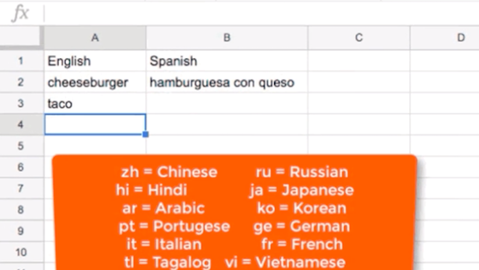 How To Use Google Sheets To Translate Languages For You