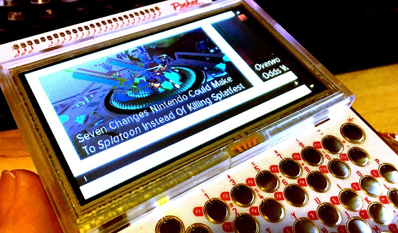 The PocketCHIP Is An Excellent Introduction To Absurdly