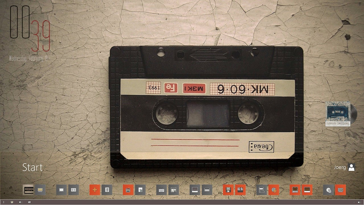 The Mix Tape Windows Desktop