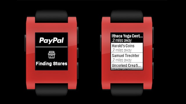Pebble and PayPal Give You Another Stupid Way To Pay For Stuff