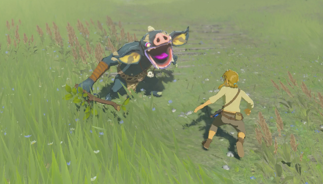 In Master Mode, Breath Of The Wild's Starting Area Is The