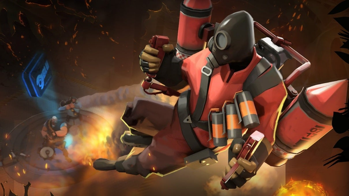 Team Fortress 2's Pyro Has A Jetpack Now