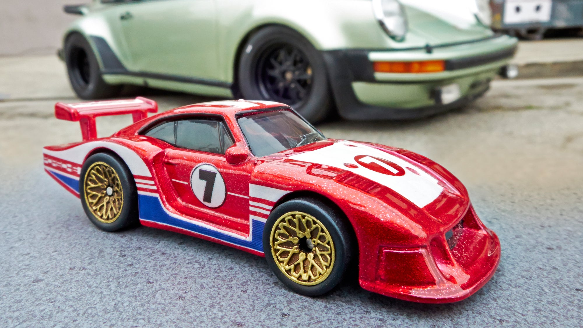 Hot Wheels New Series of Classic Porsches Were Customised by a Famous Tuner