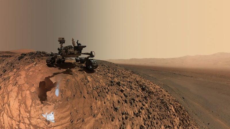 NASA's Curiosity Rover Just Took A Step Towards Autonomy