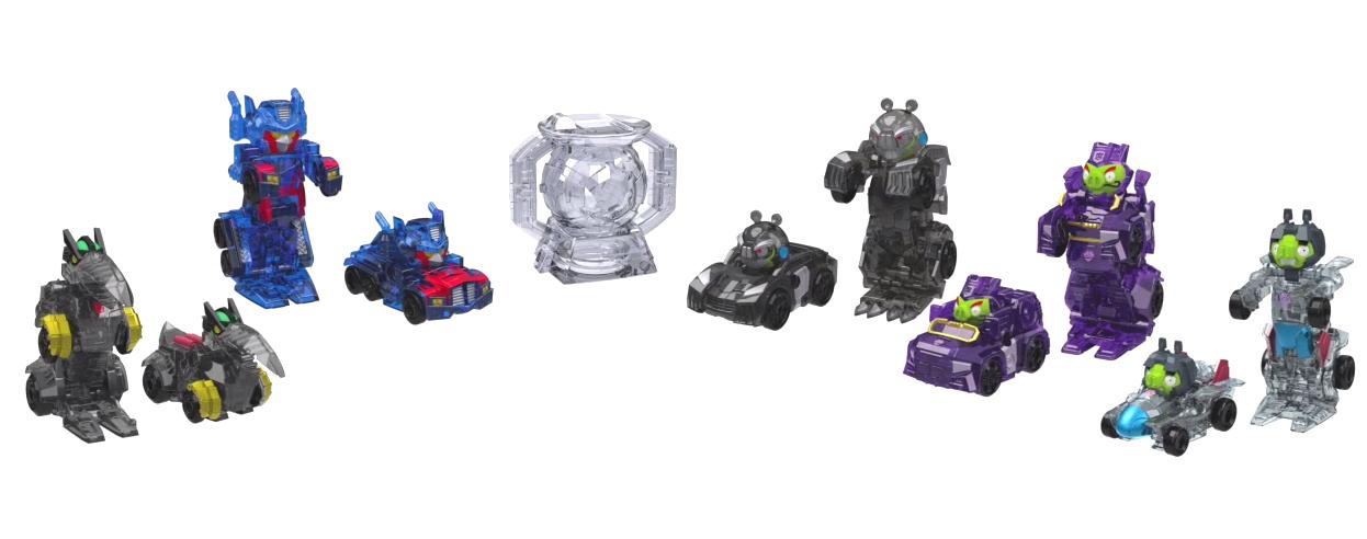 Angry Birds Transformers Toys Do Transform Basically
